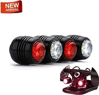 Blusea Koowheel 4Pcs Skateboard LED Lights Night Warning Safety Lights for 4 Wheels Skateboard Longboard