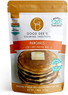 Good Dee's Pancake Mix - Low Carb, Keto Friendly, Diabetic Friendly, Sugar Free, Gluten Free