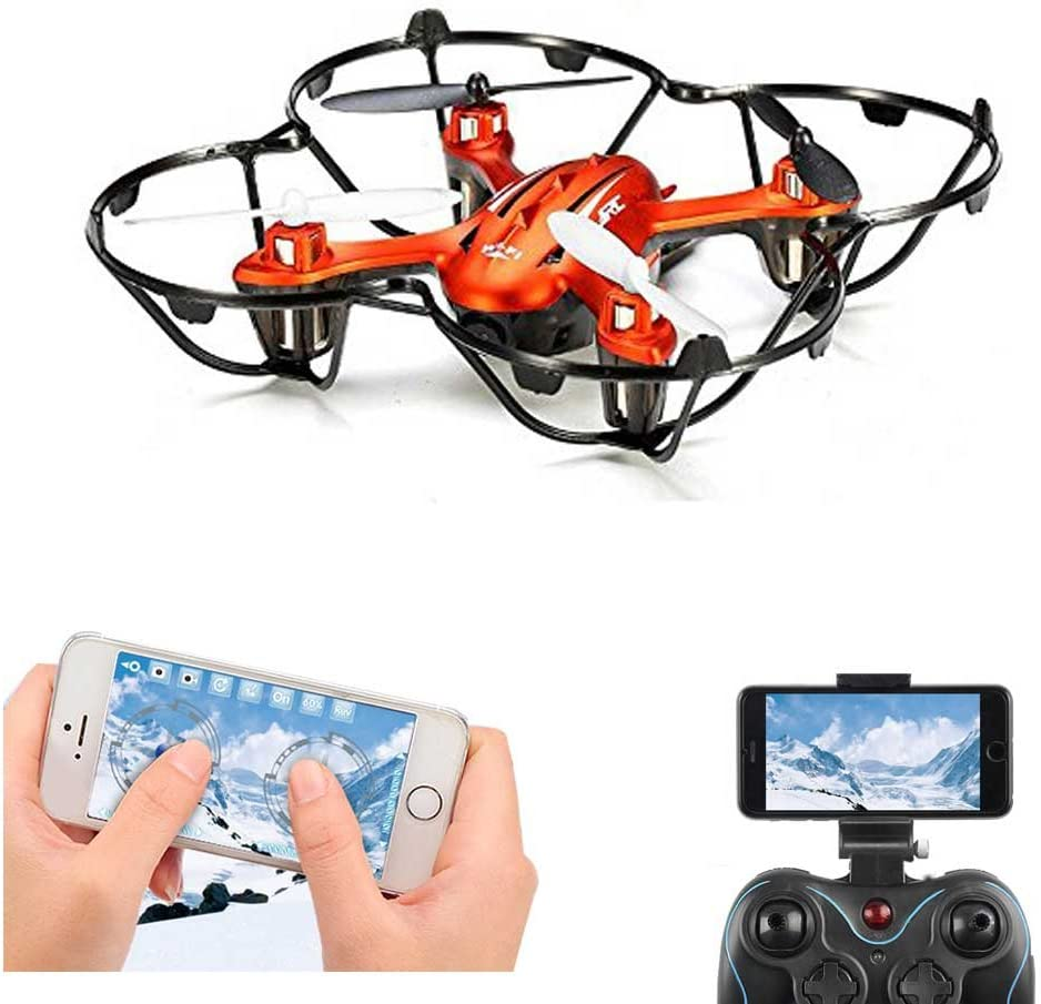 FPV RC Quadcopter Drone With 2MP HD Wifi Camera Mini Drone Real Time Live Video 4 Channel 2.4GHz 6-Gyro RC...