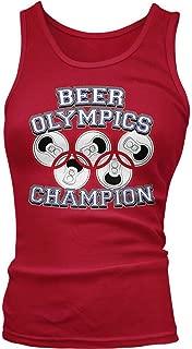 Junior's Beer Olympics Champion Tank Top