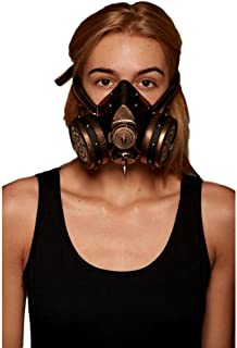 KII Steampunk Gas Mask (One Size Fits Most)