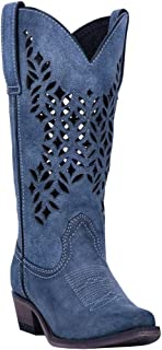 Women's Chopped Out Western Boot Snip Toe