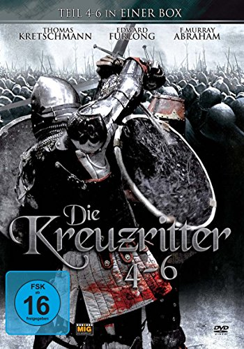 Die Kreuzritter - Box Set Teil 4-6 (Limited Edition, 2 DVDs)