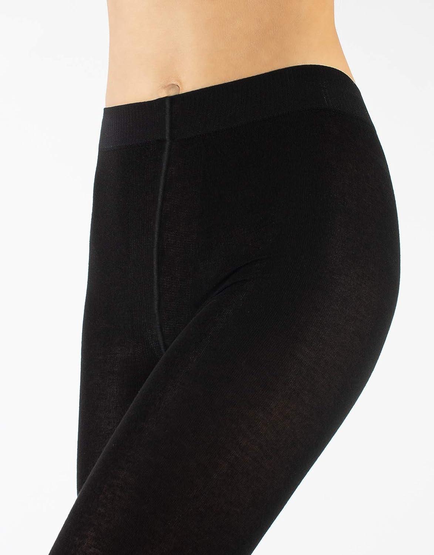 Nero Calze Coprente 150 Den Calzamaglia Cashmere Blu S M L XL CALZITALY Collant Opaco Lana Donna