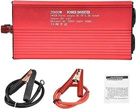 2000W Inversor electrico Convertidor inversor de onda sinusoidal pura Convertidor 12 V 220 V