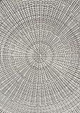 Destiny Sitzgruppe Luna Vintage Weiß Garnitur Gartenmöbelset Polyrattan 9teilig - 7