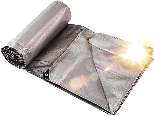 MONFS Home Tente extérieure bache imperméable multifonctionnelle de bache de polyéthylène de Jardin extérieur de bache imperméable (Couleur   Thickening, Taille   8×12m)
