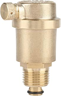 MLMLH Air Vent Valve - DN15 G1/2 Brass Automatic Air Vent Valve for Solar Water Heater Pressure Relief