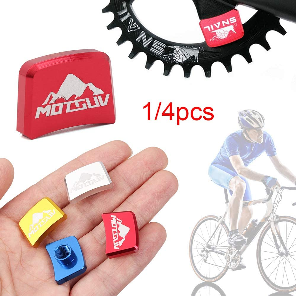 Xunteng 24 17mm Road Mountain 5 Colors Crankset Accessories Single Chainring Bolts MTB Bicycle Parts Chainwheel Screws Bike Disc Screw