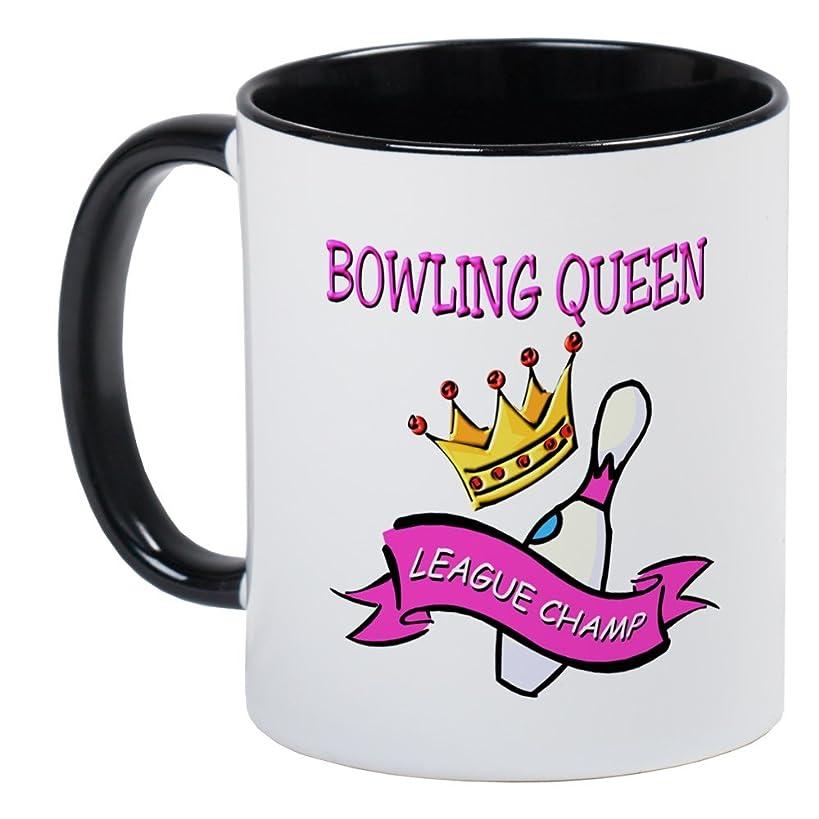CafePress BOWLING QUEEN Mug Unique Coffee Mug, Coffee Cup
