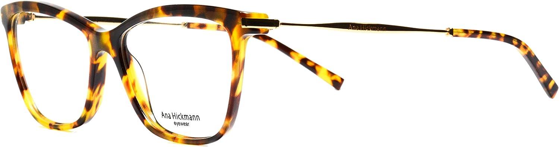 Eyeglasses Ana Hickman AH6254 G21 cateye tortoise frame Size 5516145