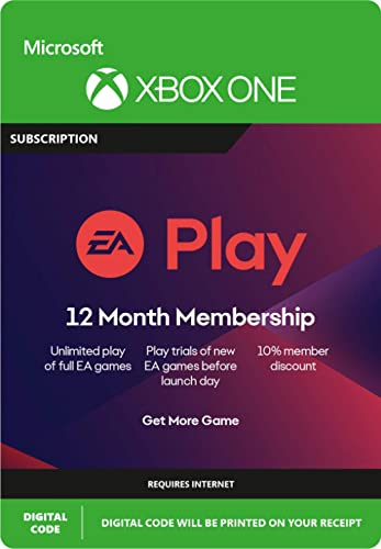 EA Play 12 Month Subscription – Xbox One [Digital Code]