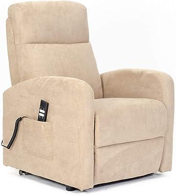Sillon-Relax - Sillón eléctrico, levantapersonas, reclinacion Independiente Respaldo/pies, Asiento