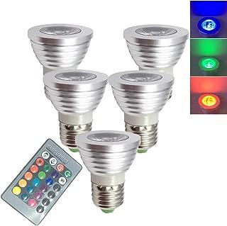 colour changing spotlight bulbs