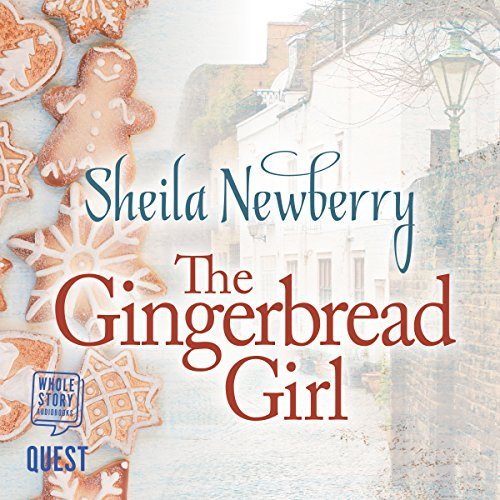 The Gingerbread Girl audiobook cover art