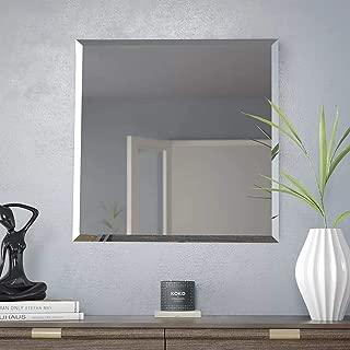 Best square frameless mirror Reviews