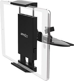 APPS2Car CD Tablet Houder 360 voor 7-11 Inch Tablet Universele CD Tablet Mount Tablet Houder voor Auto iPad 9.7, 10.5, iPa...