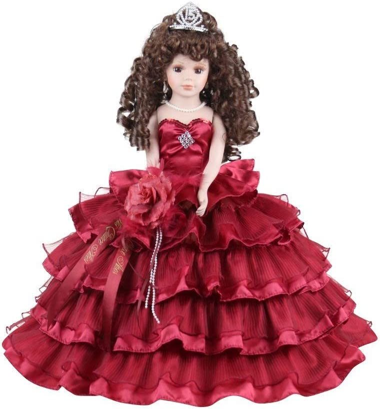 Quince Anos Quinceanera Last free shipping Centerpiece Muneca ~Burgundy~ Doll Memphis Mall