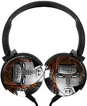 Lightweight Sharingan Eye Sasuke Rinnegan Over-Ear Strong Sound Stereo Headphone Rotation Axis Design Wired Headset