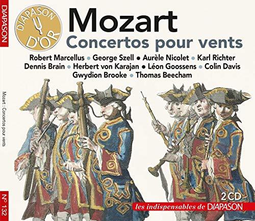 Mozart : Concertos pour vents. Marcellus, Nicolet, Brain, Brooke, Szell, Richter, Karajan,...