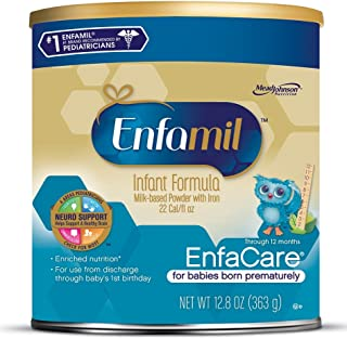 Enfamil EnfaCare Infant Formula – Clinically Proven growth benefits for premature..