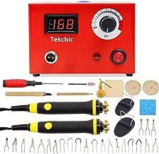 Tekchic Wood Burning Kit 23 Wire Tips Including Ball Tips, Wood Burning Tool 110V 50W..