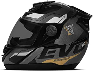 Pro Tork, CAP-736BLK, Capacete, Evolution G8 Evo Black Edition Brilhante
