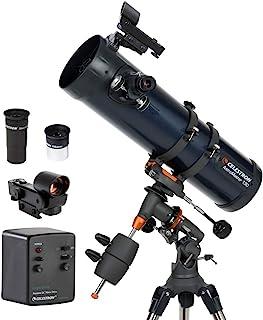Celestron AstroMaster 130EQ-MD Telescopio con Motor para Seguimiento Automático Azul