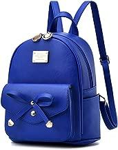 mini backpack baby blue