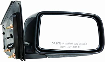 for Mitsubishi Lancer Sedan ES Manual Operated Non-Heated Folding Side Door View Mirror 2002 2003 2004 2005 Passenger Righ...