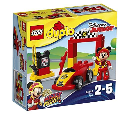 Lego Duplo Disney-10843 Mouse Deportivo de Mickey, Color Surtido, Miscelanea (10843)