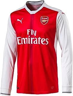 puma arsenal long sleeve home jersey