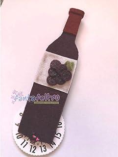 Disco Orario per auto Bottiglia Vino - idea regalo simpatica uomo donna