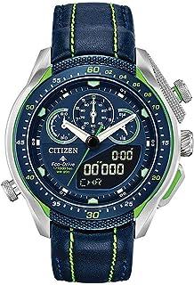 Citizen Men's Analogue Japanese Quartz Watch with Leather Strap JW0138-08L