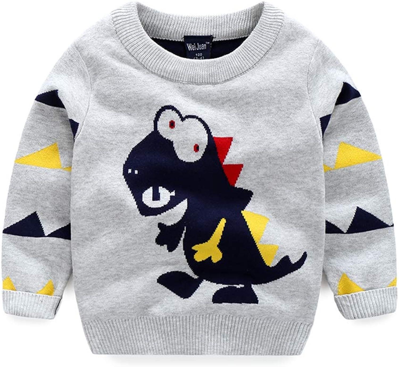 LaLaMa Kids Boys Elephant Cartoon Long Sleeve Tee Top Sweatshirt T Shirt