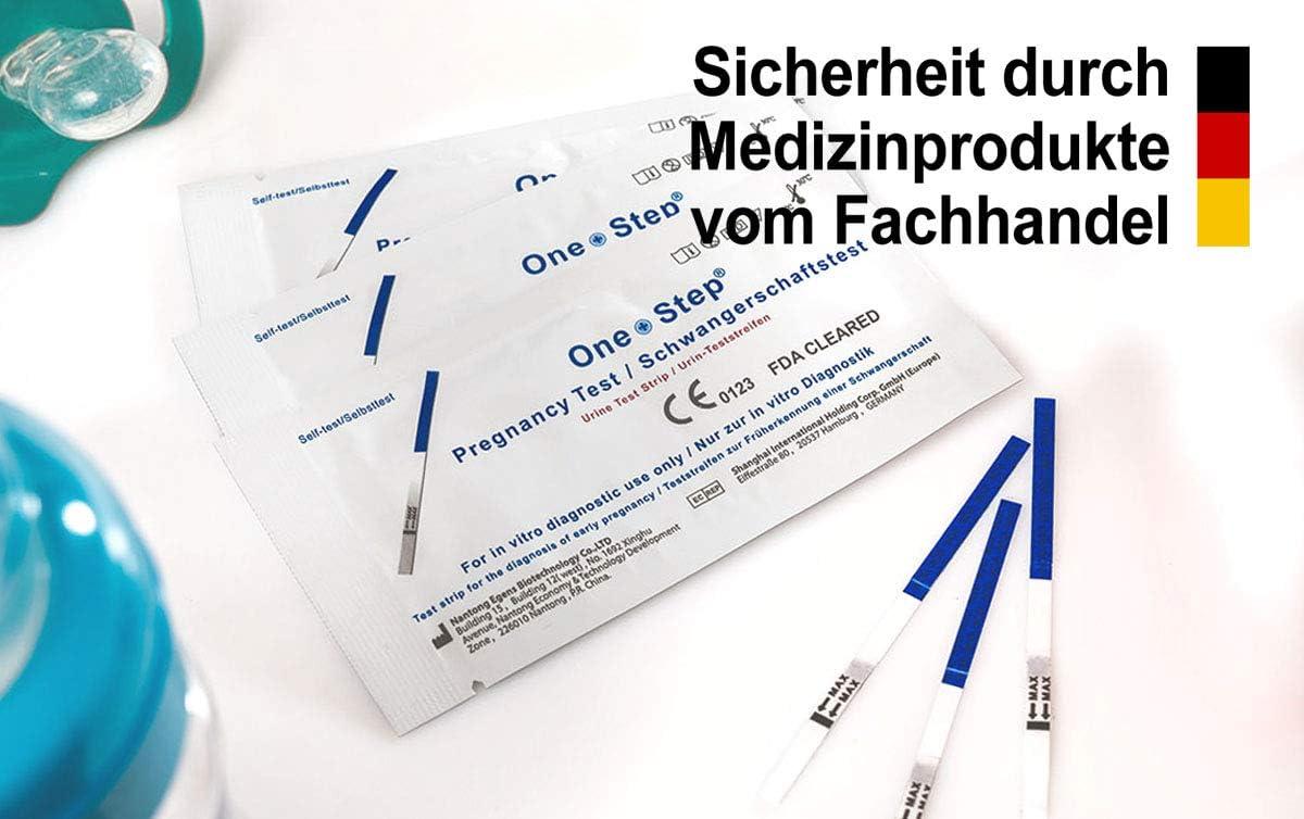 One+Step ultraempfindlicher Schwangerschaftstest - Frühtest