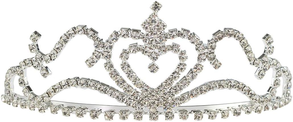 LookLove Womens Fashion Jewelry Brides Crystal Tiara