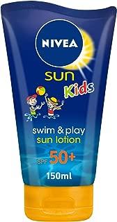 NIVEA, Sun Lotion, Kids Swim & Play, SPF 50+, 150ml