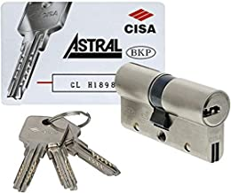 Cisa 0A3S107012 slotcilinder Astral SIGILLO, messing, 30/30 mm
