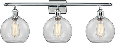 Eglo Lighting 203749A Devora 3 Light 22 inch Antique Gold Bath Vanity Wall Light