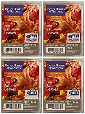 Better Homes and Gardens Crisp Fall Leaves Wax Cubes - 4-Pack