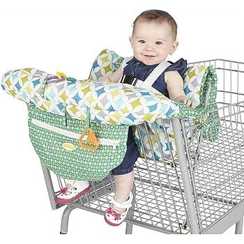 Protege Caddie B/éb/é Supermarch/é Shopping Trolley Prot/ège Si/ège Eruditter Coussin Poussette Universel Coussin Antibact/érien Portatif pour Caddie 120X70cm