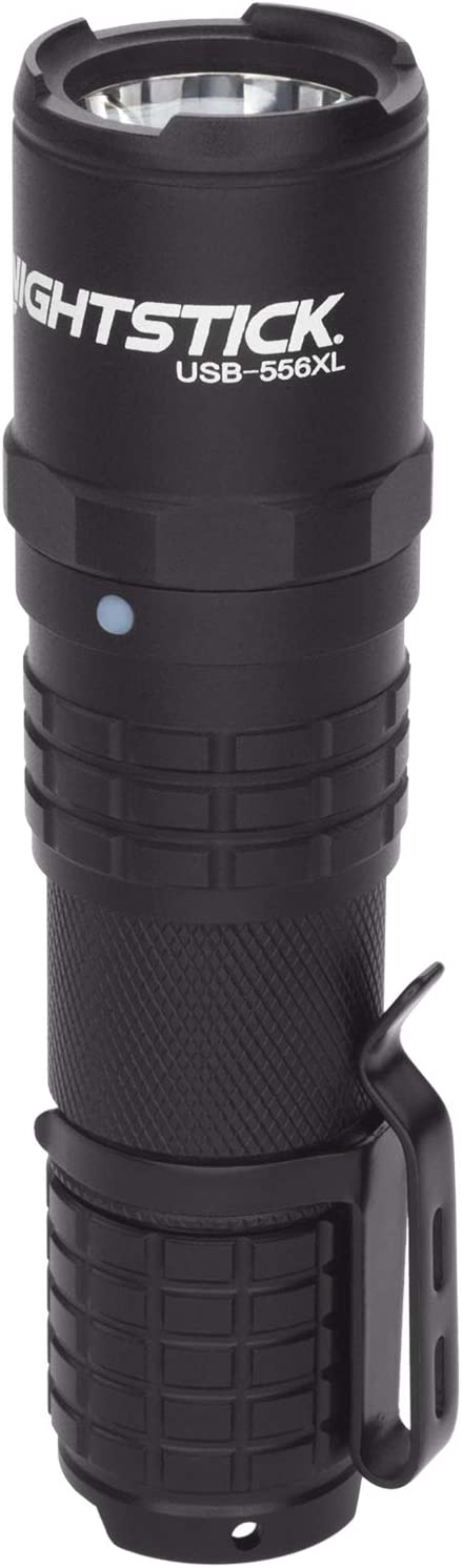 Nightstick Limited time trial price USB-556XL USB Black low-pricing Rechargeable Flashlight