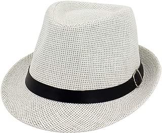 Bin Zhang Jazz Hat 2019 Male Women Couple Straw Hat Outdoor Travel Straw Solid Color Fashion Sunshade Sun Hat