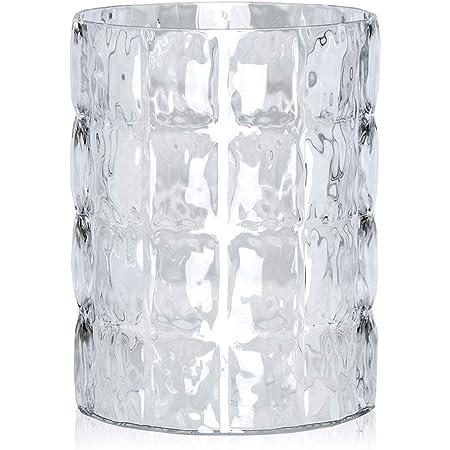 Kartell MATELASSE' Vase, cristal