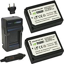 Wasabi Power Battery (2-Pack) and Charger for Samsung BP1030, BP1130, ED-BP1030 and Samsung NX200, NX210, NX300, NX1000, N...