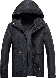 Men's Autumn Winter Camouflage Hoodie Zipper Casual Sport Coat Fashion Pockets Long Sleeve Outdoor Jackets Outwear Daorokanduhp