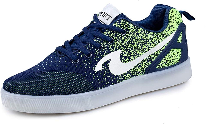 Mesh Light shoes LED Charging Flash shoes colorful Luminous shoes Fluorescent shoes Ghost shoes Comfortable Sweat-Absorbent Breathable (color   A, Size   35EU)