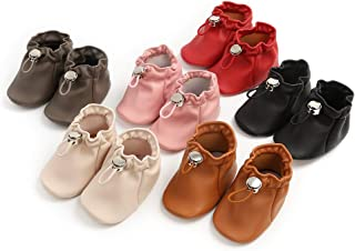 Newborn Infant Baby Girls Boys Canvas Sneakers Soft Sole High-Top Ankle First Walkers Camo Shoes Toddler Slip On Crib Mocc...