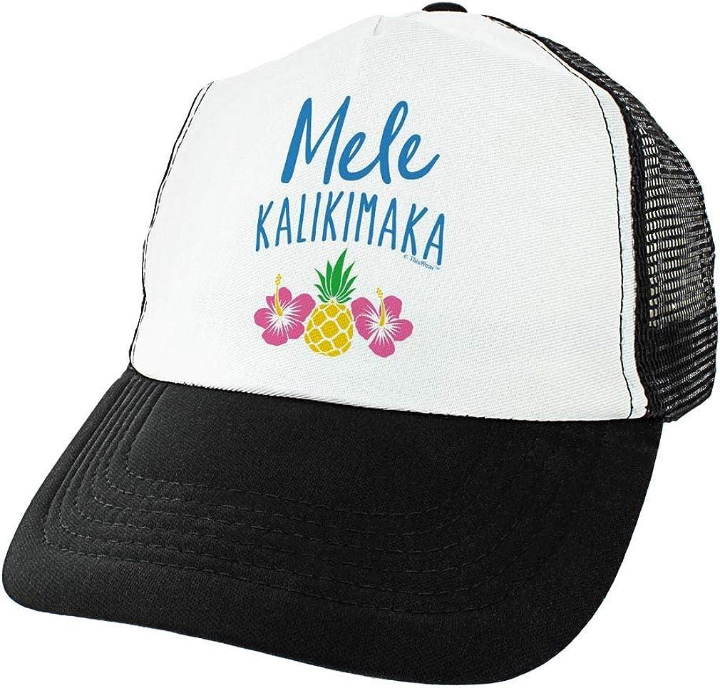 Mele Kalikimaka Hawaiian Christmas Song Trucker Hat